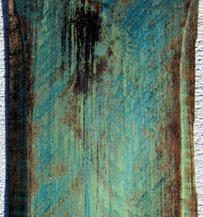 Rusted Wood Cover