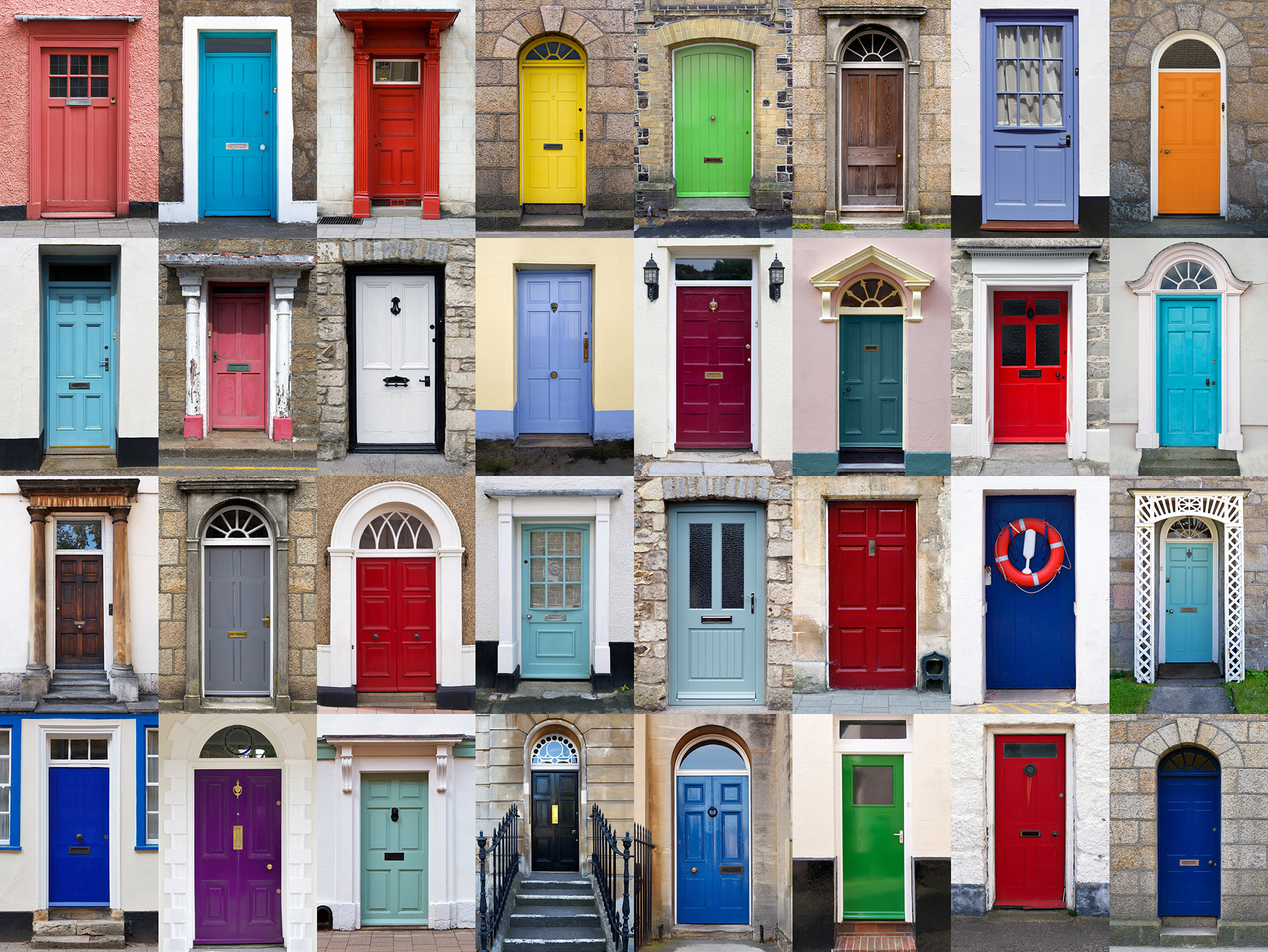 Exterior Door Paint Fair Of Front Door Color Pictures